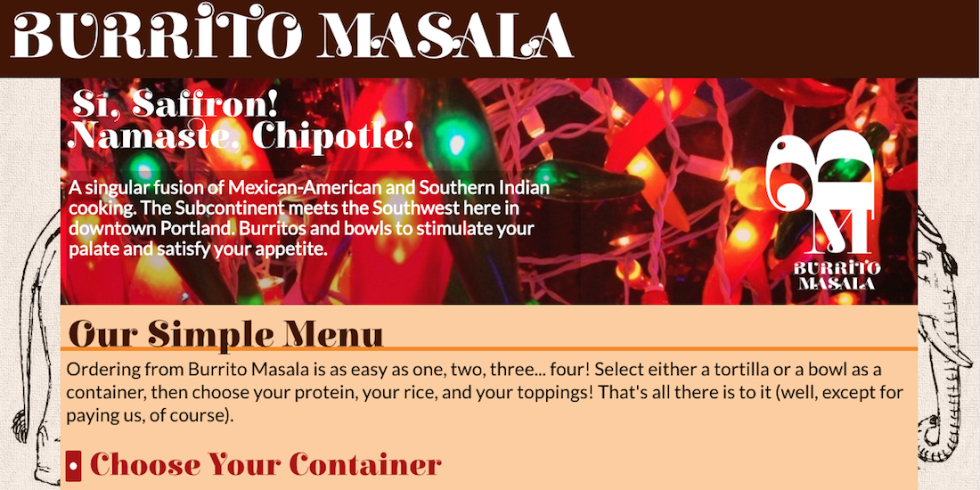 Burrito Masala screenshot